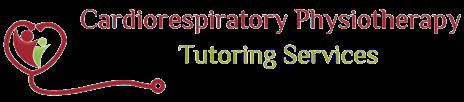 Cardiorespiratory Physiotherapy Tutoring Services